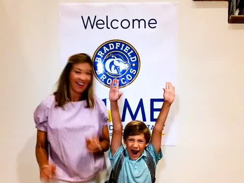 First Day Family Photo Booth