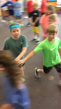 4th grade dancing this week