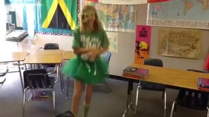 Maddie dances