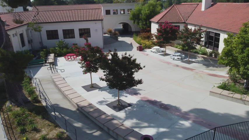 Huntington Middle School - Aerial Tour