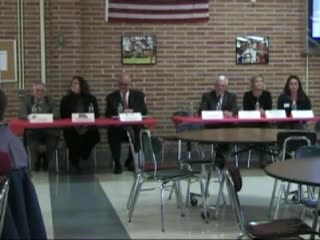 College representatives panel discussion