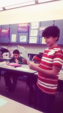 readers theater - who wants to be pres