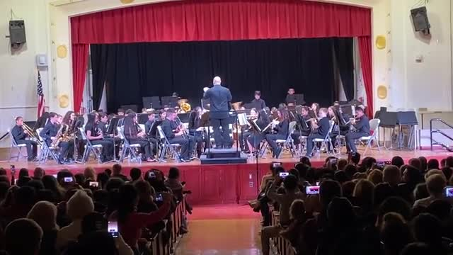 Jazz Band performing
