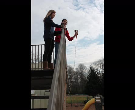 Barbie bungee jumps