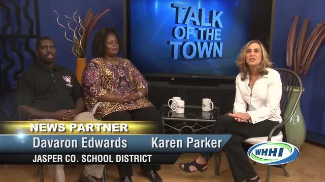 TALK OF THE TOWN Dr. Karen Parker - Principal Ridgeland-Hardeeville High School