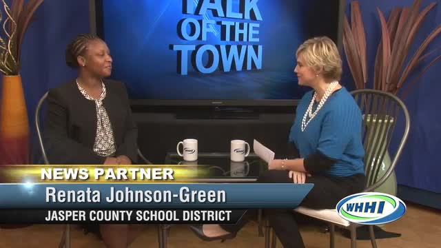 TALK OF THE TOWN Mrs. Renata Johnson-Green- Principal Ridgeland Elementary School