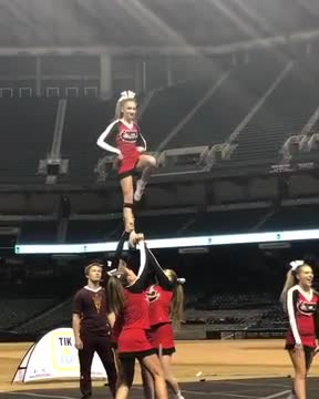 All Girl Stunt Routine
