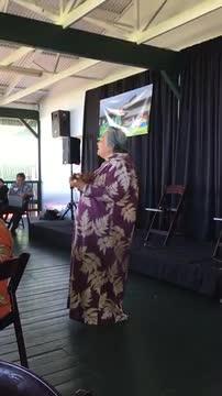 Aunty Haunani Aopliona Singing