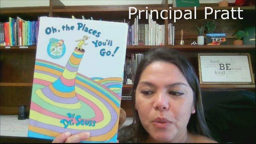 Dr. Seuss, Oh the Places You'll Go by Kaumana Teachers and Staff
