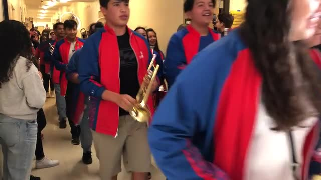 EBHS Band Plays