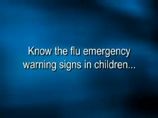 CDC Video: Flu Warning Signs