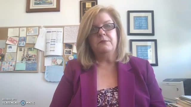 Principal's Video explaining LAHSA Distance Learning schedule and online meetings