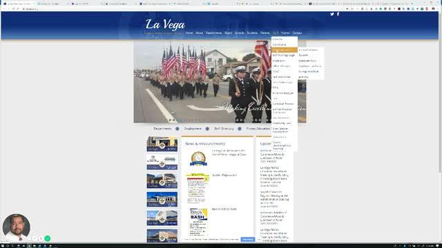 Video on how to log into La Vega JunkMail