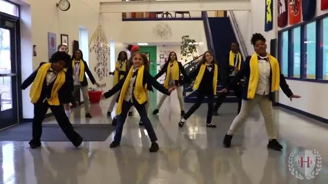 Video of Student Dancers for National School Choice Week
