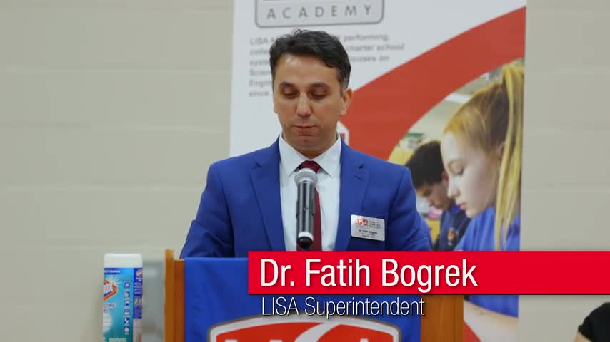 Video of LISA Academy West High School Grand Opening