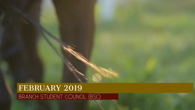Branch Student Video, February 2019