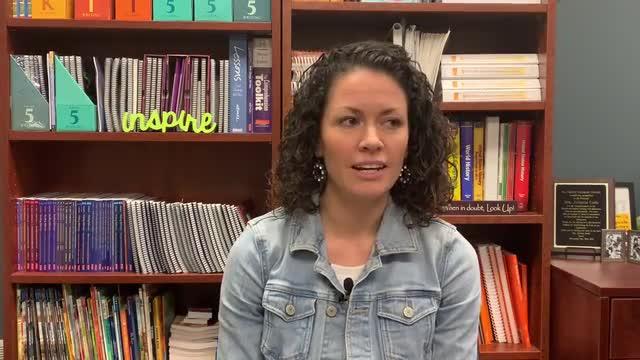 Julieane Cook talks about teaching at LUMIN Schools.