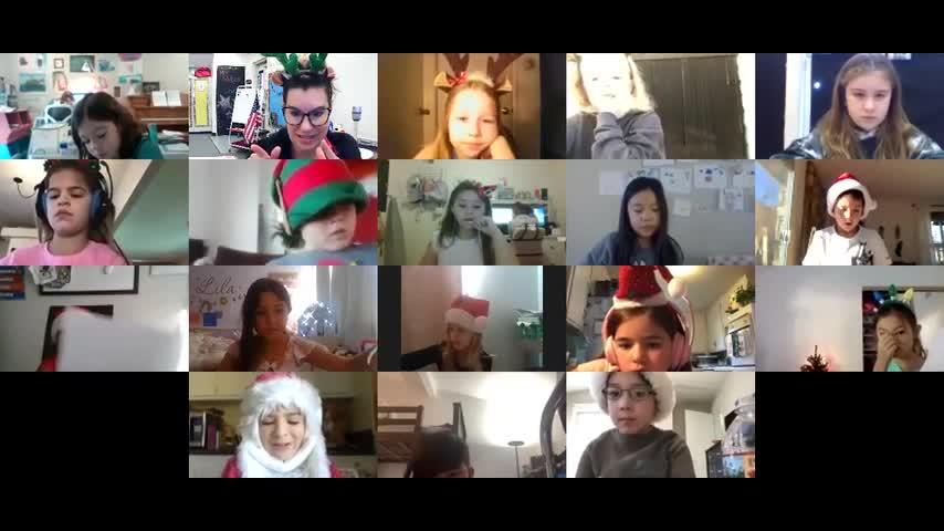 Mrs. Watson's 2nd Grade Holiday Video
