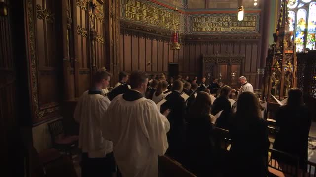 The Madeleine Choir School celebrated twenty years with alumni, parents, faculty and staff -- both, current and former -- on 12 November 2016 as a part of a weekend of celebration including this video produced by Issac Goeckeritz that capturing memories of the school's beginnings and the success it has shown in two decades of existence.