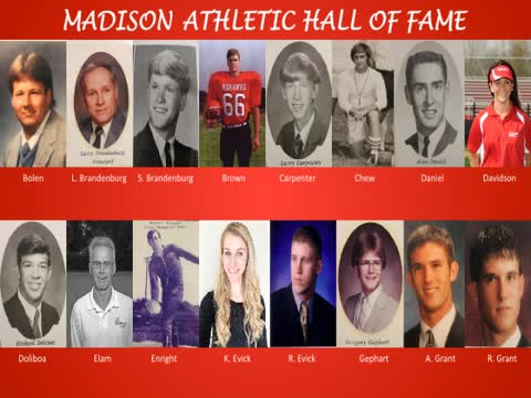 Madison Athletic Hall of Fame video