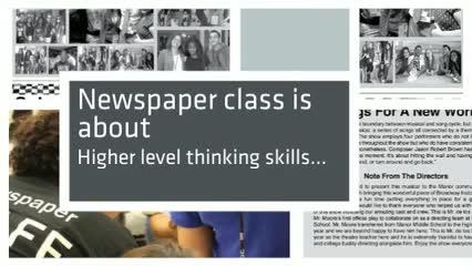 Newspaper class overview of Mustang News