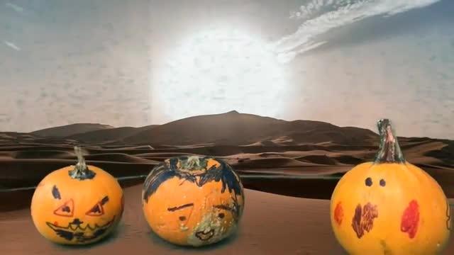 Mummies Pumpkins Green screen 2nd grade