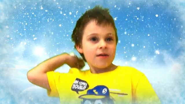 Winter Shenanigans 2nd grade green screen