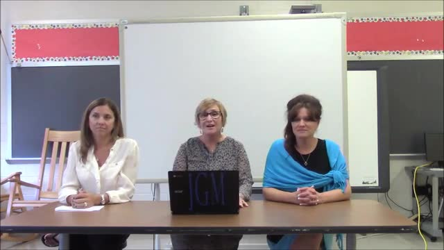 Back to School Night Video - Mrs. Green and Mrs. Georges