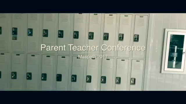 Video depicting Parent Teacher Conferences November 2017