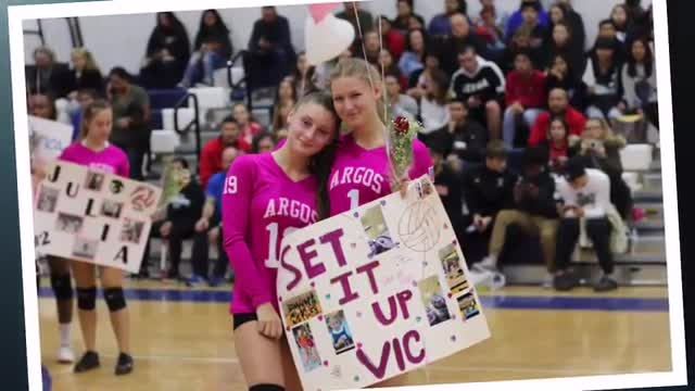 2019 Girls Varsity Volleyball Senior Night