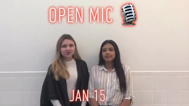 video of Monday announcements