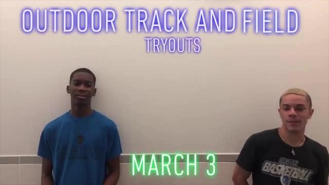 Monday Announcements - March 2, 2020