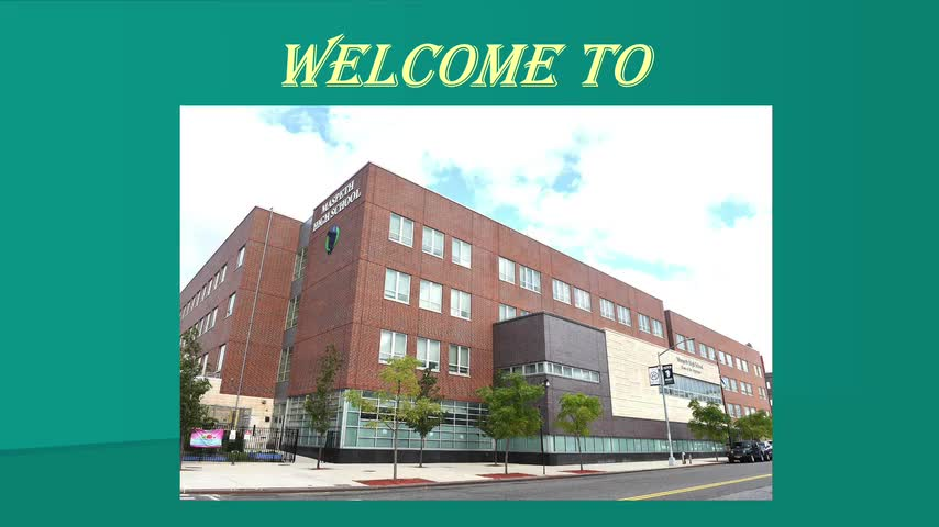 Maspeth High School Open House Presentation 2020