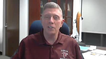 Distance Learning Message from Michael Fossum