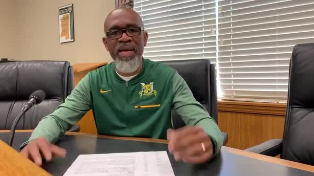 Dr. Ellis provides information on how the district will continue to support scholars after Governor Reeves's announcement that schools will remain closed for the remainder of this semester.