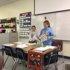 Presenting their Play
