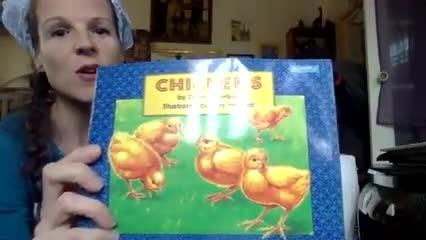 Chickens read aloud