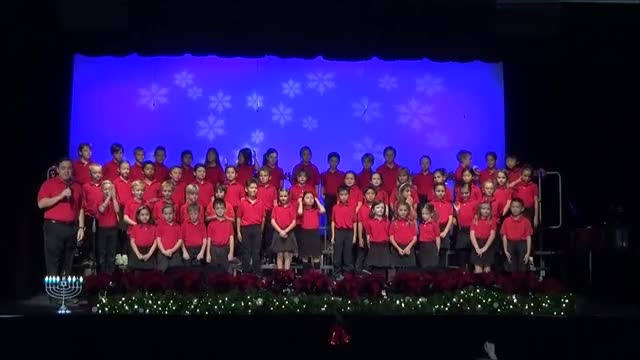 2nd and 3rd grade Holiday Concert