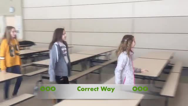 How to Behave in the Cafeteria