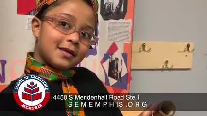 Memphis School of Excellence enrollment video is here