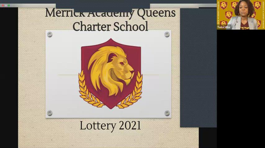 Merrick Academy 2021 Lottery