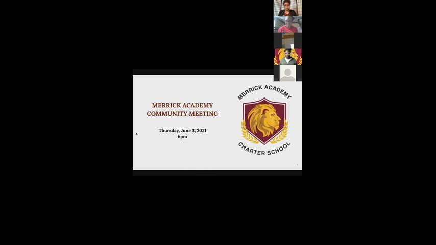 MACS Community Meeting June 3rd