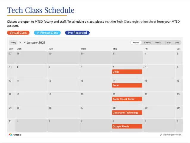 Tech Class - Copying Schoology Access Code