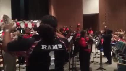 Back to School Convocation with MWHS Mighty Ram Band