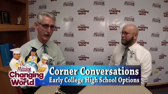 video providing information about early college high school programs