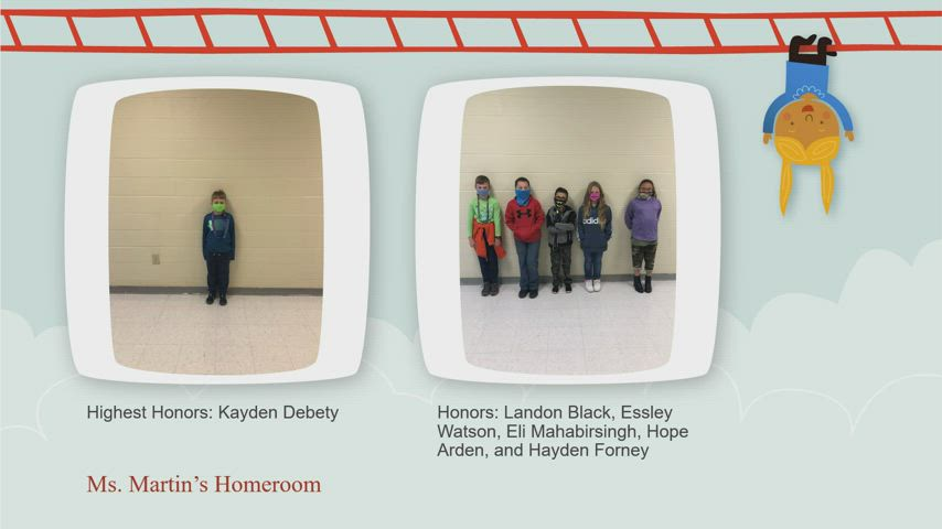honor roll video presentation