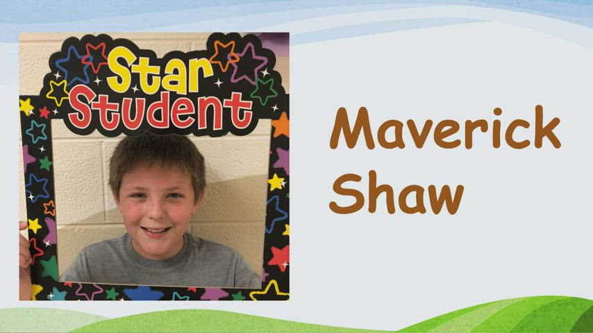 Video of the students who received the March 2021 Student of the Month Award at TPES