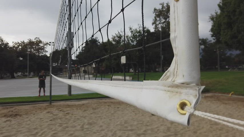 Monrovia High School's Beach Volleyball Team ends the season with a win against San Gabriel High School.