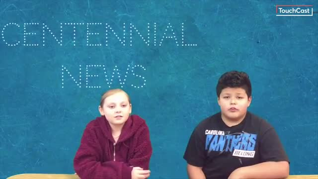 Centennial News at 18 March 2019 - Our 5th-Grade students give you the news, Centennial Style.