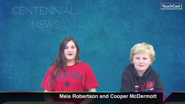 Centennial News at 1 April 2019 - Our 5th-Grade students give you the news, Centennial Style.
